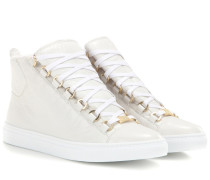 High-Top-Sneakers Arena aus Leder