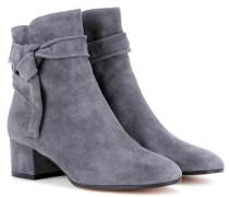 Ankle Boots Leslie aus Veloursleder