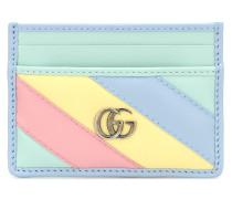 Kartenetui GG Marmont aus Leder