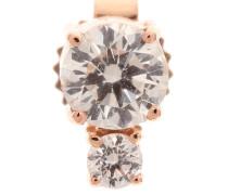 Ohrring aus Roségold mit Diamanten