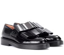 Loafers aus poliertem Leder