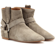 Étoile Ralf Ankle Boots aus Veloursleder