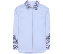 Bluse Keegan aus Baumwolle