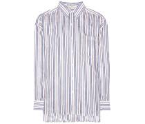 Hemd aus einem Seidengemisch