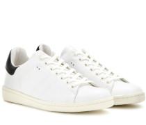 Sneakers Bart aus Leder