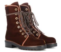 Exklusiv bei mytheresa.com – Ankle Boots Metermaid aus Samt