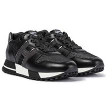 Sneakers H383 aus Mesh und Leder