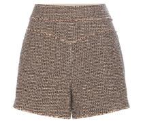 Tweed-Shorts aus einem Wollgemisch