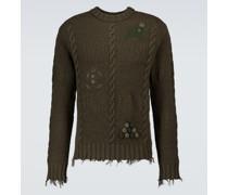 Pullover Stitch-Mas aus Schurwolle
