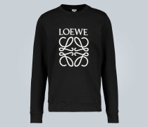 Sweatshirt mit Monogramm