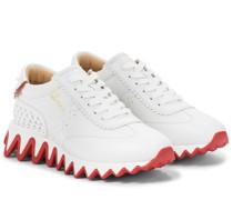 Sneakers Loubishark aus Leder