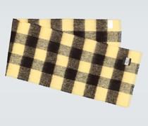 Karierter Schal aus einem Wollgemisch