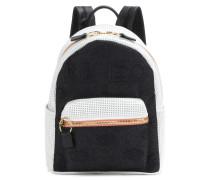Rucksack Kombo aus Leder und Nylon