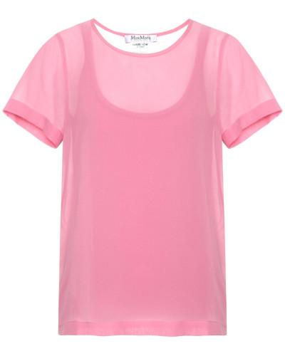 Exklusiv bei Mytheresa – T-Shirt Rino aus Seidencrêpe