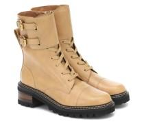 Ankle Boots Mallory aus Leder