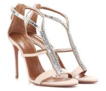 Sandaletten Constance 105 aus Veloursleder