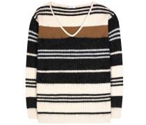 Pullover aus Wolle, Cashmere und Seide