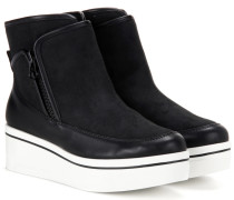 Ankle Boots mit Plateausohle