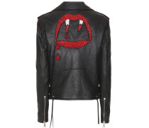 Bikerjacke Classic L01 Blood Luster aus Leder