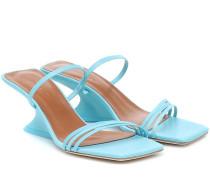Wedge-Sandalen Romy aus Leder