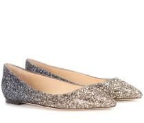 Exklusiv bei mytheresa.com – Ballerinas Romy mit Glitter