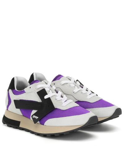 Sneakers Runner aus Veloursleder