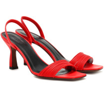 Slingback-Sandalen Dilema aus Leder