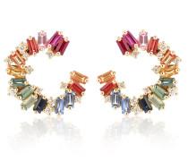 Ohrringe Rainbow Spiral aus 18kt Gelbgold