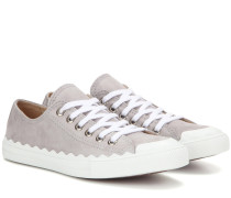Sneakers Lauren aus Veloursleder