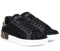 Verzierte Sneakers