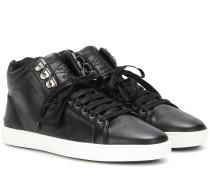 High-Top-Sneakers Kent aus Leder