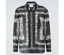 Bedrucktes Hemd aus Baumwolle