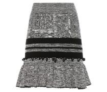 Strickrock aus einem Woll-Seidengemisch