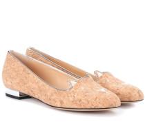 Loafers Kitty aus Kork