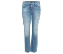 Mid-Rise Cropped Jeans Roxanne