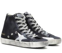 High-Top-Sneakers Francy aus Denim