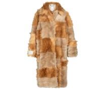 Mantel Adrienne aus Faux Fur
