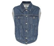 Oversize-Jeansweste