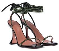 Sandalen Vita aus Lackleder