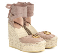 Espadrille-Wedges Double G