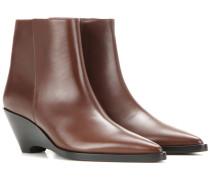 Ankle Boots Cony aus Leder