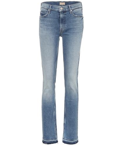 Straight Leg Skinny Jeans The Rascal Slit