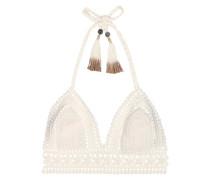 Bikini-Oberteil Farah aus gehäkelter Baumwolle