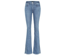 High-Rise W3 Split Seam Bell Jeans