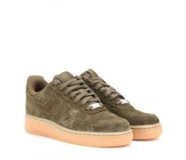 Nike - Sneakers Nike Air Force 1 aus Veloursleder