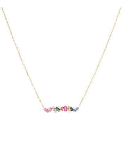 Halskette Rainbow aus 18kt Gelbgold