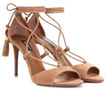 Sandaletten Keira aus Veloursleder