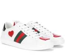 Verzierte Sneakers Ace aus Leder
