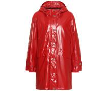 Beschichteter Mantel aus Jersey