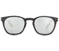 Sonnenbrille Classic 28 mit Glitter